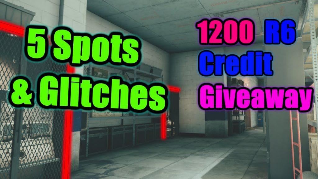 Rainbow Six Siege | Club House Glitches & Spots | 1200 R6