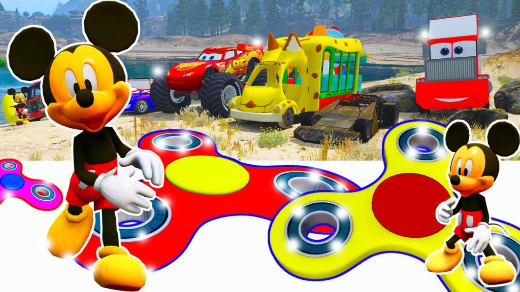 Mickey Mouse Cartoons ClubHouse Racing Car MCqueen for Kids