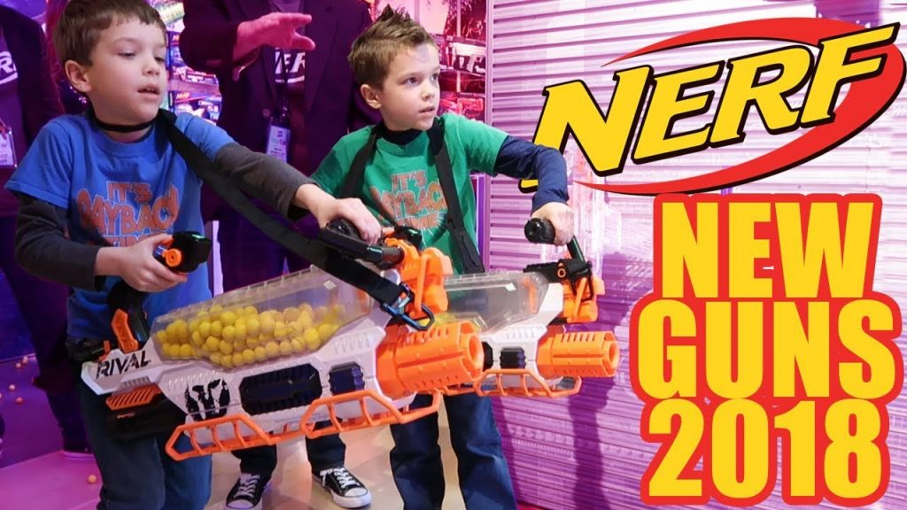 twin toys reveals all new 2018 nerf guns green keeping supplies. Black Bedroom Furniture Sets. Home Design Ideas