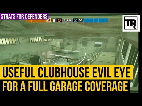 Useful Clubhouse Evil Eye Placement in Garage   Rainbow Six Siege