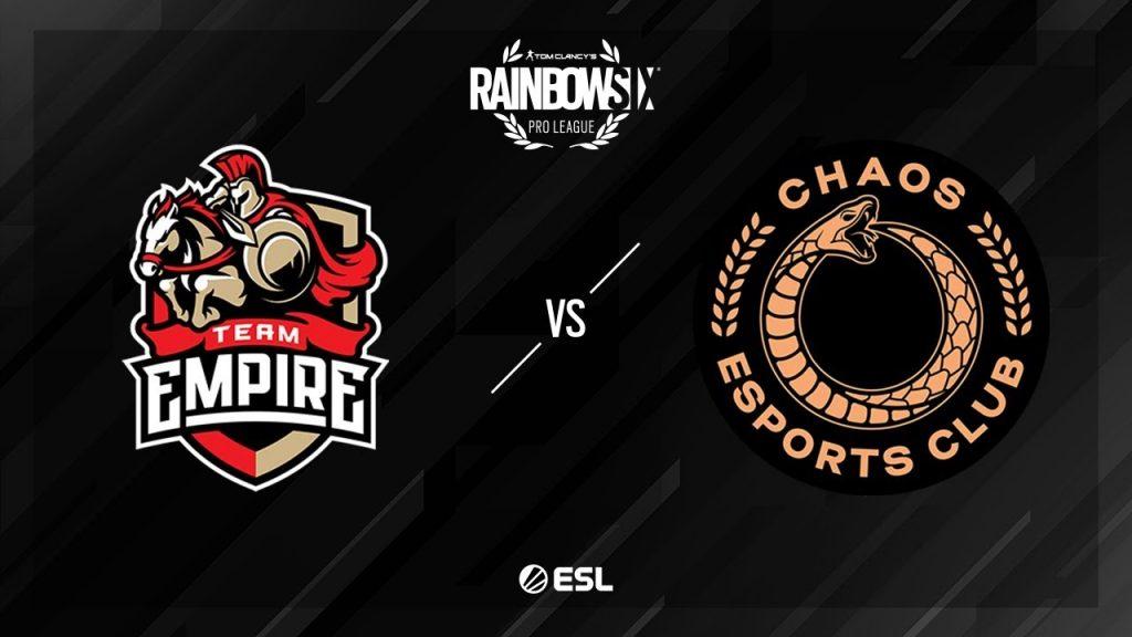 Team Empire vs Chaos – Clubhouse – Rainbow Six Pro League – Season X – EU