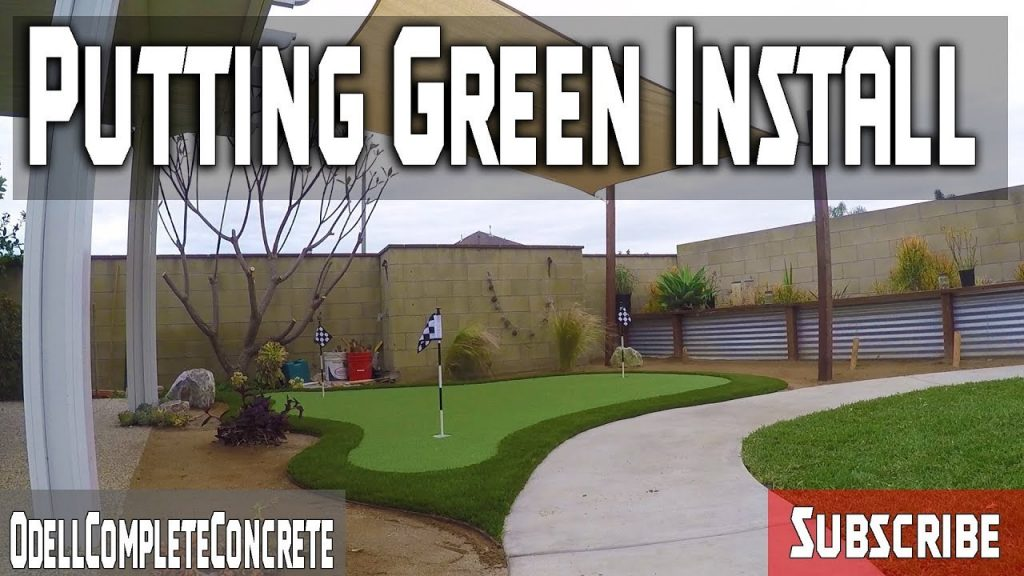 How to Install a Putting Green in Your Backyard DIY! PART 2