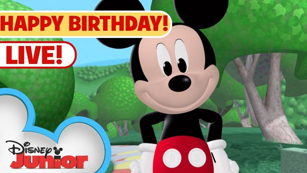 Live! Mickey's Biggest Birthday Party Yet! (Clubhouse, Mixed-Up Adventures full episodes and shorts)