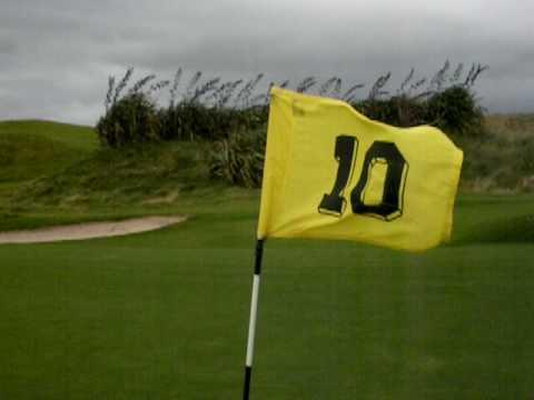 Donegal Golf (Murvagh) Ireland 2009 #10 flag
