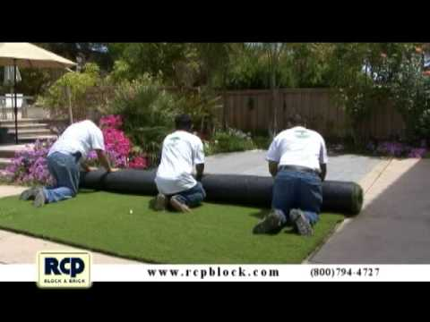 How to Install Artificial Grass – RCP Block & Brick